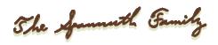 the Spannuth family signature
