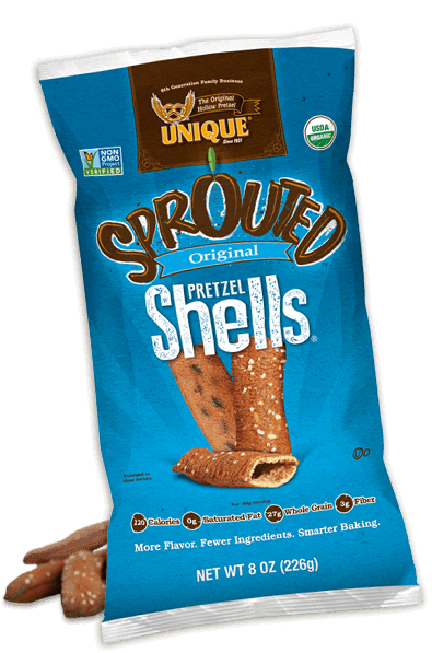 sprouted shells bag