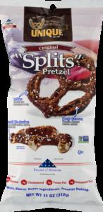 Unique original Splits pretzel bag