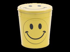Smiley face Tin
