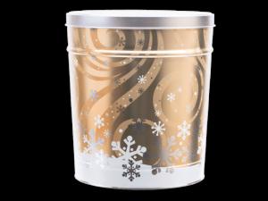 Swirling Snow Tin