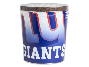 New York Giants Tin