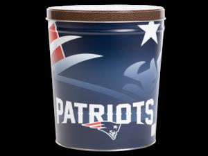 New England Patriots Tin