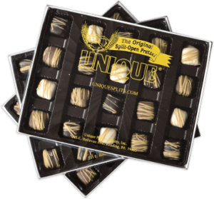 White Chocolate & Assorted Crunchies