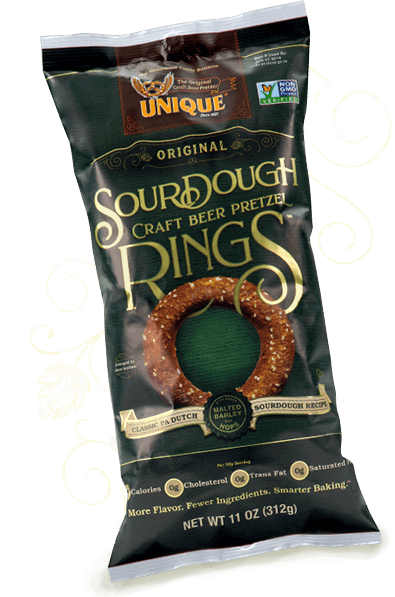 Craft Beer Pretzel Rings